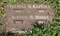 Bernice B Bishop