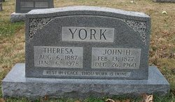 John Henry York