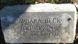 Barbara Beck Goodson