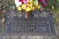 Mary Ellen <i>Shakespeare</i> Taylor