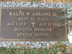 Ralph W Abrams, Jr