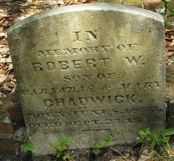 Robert W Chadwick