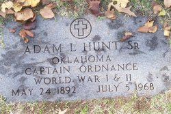 Adam L. Hunt, Sr