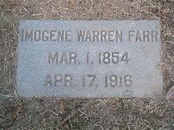 Imogene <i>Warren</i> Farr