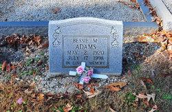 Bessie M. Adams