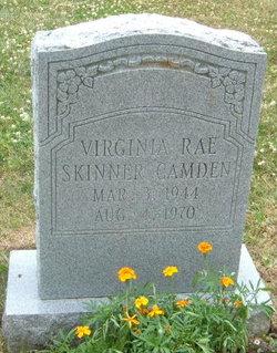 Virginia Rae <i>Skinner</i> Camden