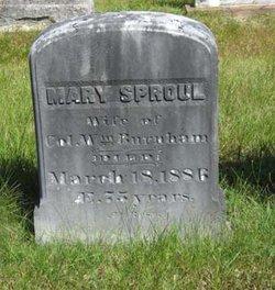 Mary <i>Sproul</i> Burnham