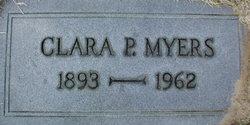 Clara P <i>Rhoads</i> Myers