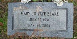Mary Jo <i>Tate</i> Blake