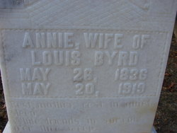 Annie <i>Lanier</i> Byrd