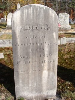 Mary Ann <i>Keneston</i> Glines