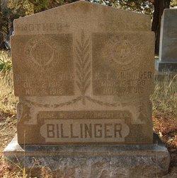 Willie <i>Huson</i> Billinger