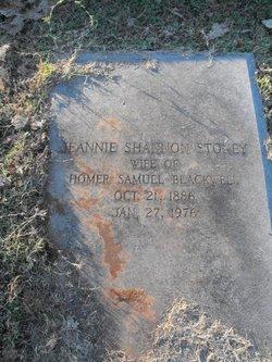 Jeannie Shannon <i>Stoney</i> Blackwell