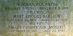 Mary <i>Punderson</i> Rockwell