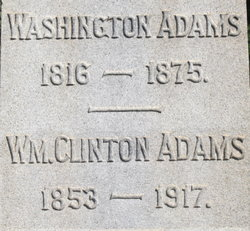 Washington Adams