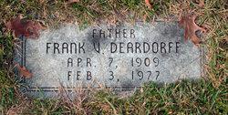 Frank V. Deardorff