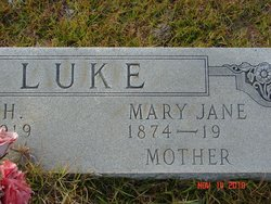 Mary Jane <i>Hendley</i> Luke