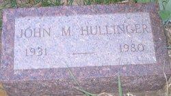 John Marion Jack Hullinger