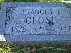 Frances Isabell <i>Riggle</i> Close
