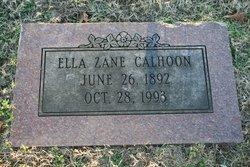Ella <i>Zane</i> Calhoon