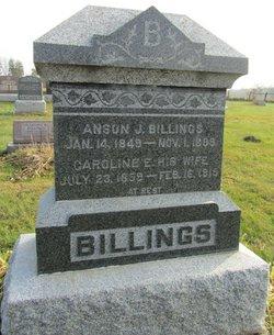 Caroline Elizabeth <i>Myers</i> Billings