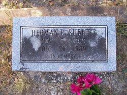 Herman L Sublett