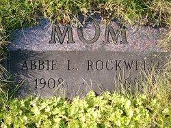 Mrs Abbie L <i>Hughes</i> Rockwell