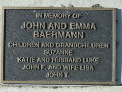 John Emil Baermann