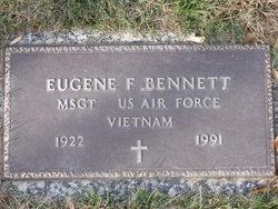 MSgt Eugene F Bennett
