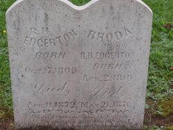 Robinson H Edgerton