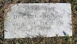 Effie L <i>Still</i> Armstrong