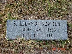 Samuel Leland Bowden