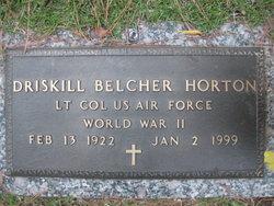 Driskill Belcher Horton
