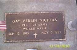 PFC Gay Verlin Nichols