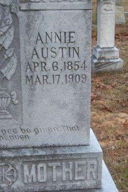 Annie Elizabeth <i>Simrell</i> Austin