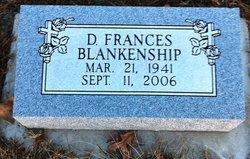 D Francis Blankenship