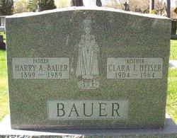 Clara Isabella <i>Heiser</i> Bauer