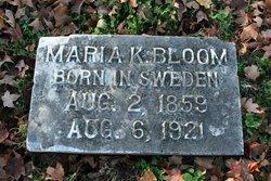 Maria Karolina <i>Setterburg</i> Bloom