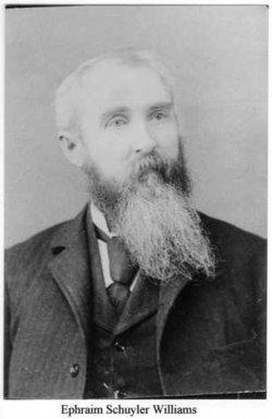 Ephraim Schuyler Williams