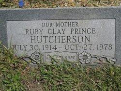Ruby Clay <i>Prince</i> Hutcherson