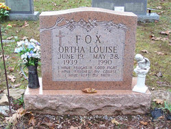 Ortha Louise <i>Boren</i> Fox