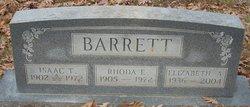 Rhoda E. <i>Ross</i> Barrett