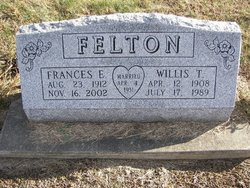 Frances E <i>Kuntz</i> Felton
