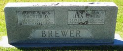 Lula E. <i>Webb</i> Brewer