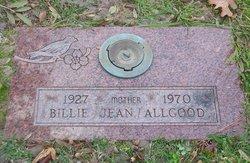 Billie Jean <i>Lowe</i> Allgood