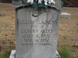 Lillian <i>Claunch</i> Akers