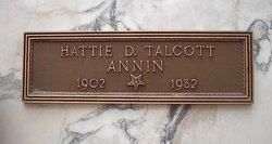 Hattie Della <i>Storer</i> Annin