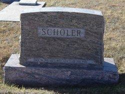 Mrs Henrietta Etta <i>Baldwin</i> Scholer