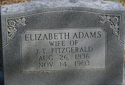 Elizabeth <i>Adams</i> Fitzgerald