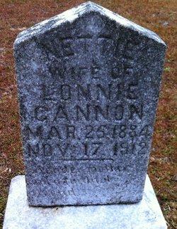 Henrietta Nettie <i>Haddock</i> Cannon